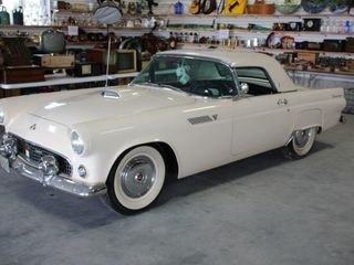 1955 FORD THUNDERBIRD CONVERTIBlE   All ORIGINAl