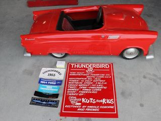 THUNDERBIRD POWER CAR COMPANY 1955 THUNDERBIRD