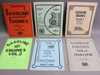 6 GASOlINE ENGINES BOOKS