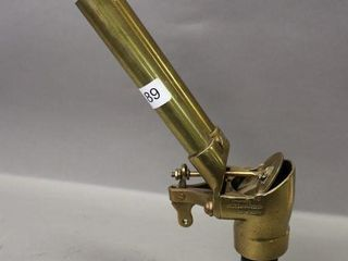 BRASS  1 EXHAUST WHISTlE