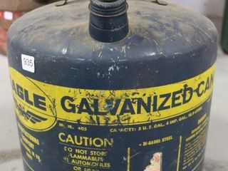 EAGlE 5 GAllON FUEl CAN