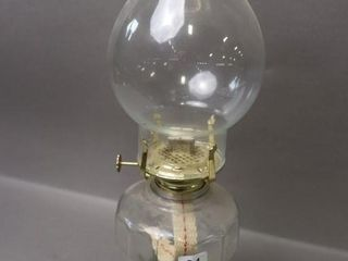 OIl lAMP WITH CHIMNEY   17 H