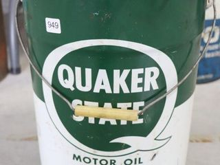 QUAKER STATE 5 GAllON GREASE PAIl