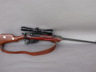 BSA 303 RIFlE W  3 9 BSA SCOPE S N A28941
