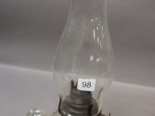 GlASS FINGER OIl lAMP   14 H
