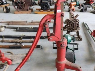 HEllER  AllER OHIO CAST WATER PUMP 53