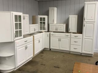 White Cabinets 114x108 Overall Measure
