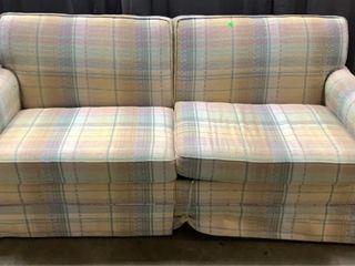 Flex Steel Hide A Bed Sofa On Wheels 70x35x29
