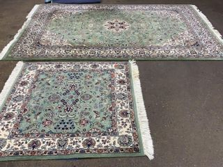 Pair Of Rugs 111x72 And 53x48