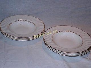 Royal Doulton Rimmed Soup Plates