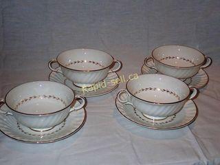 Royal Doulton Cream Soup & Stand