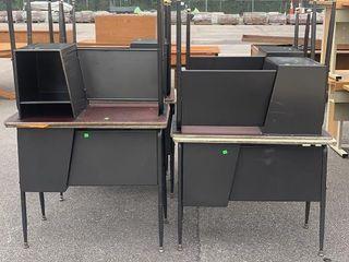 10 School Desks