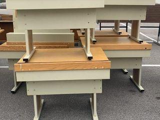 10 Desks 36x30x28