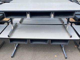 4 Table Units Damaged 72 X 30 X 25