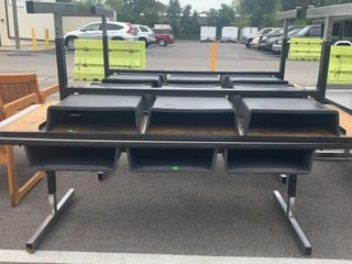 2 Rectangle Tables 72x30x24