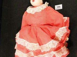 China or Ceramic Doll  201 2