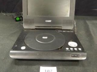 Coby DVD Video Player  Powers Up