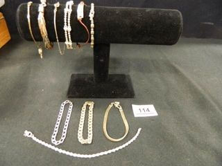 Bracelets 10  Napier 1  Avon 1