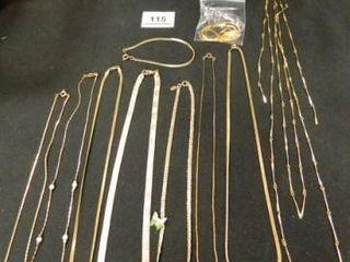 Necklaces 9  Bracelet 1