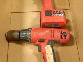 Milwaukee Drills   2  Used Condition