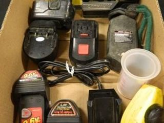 Batteries and Chargers  Assortment