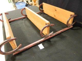 Horseshoe Hanging Shelf