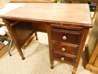 Wooden Desk  24  x 36  x 30  h