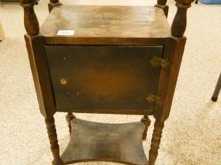 Vintage Cabinet w Spindle legs