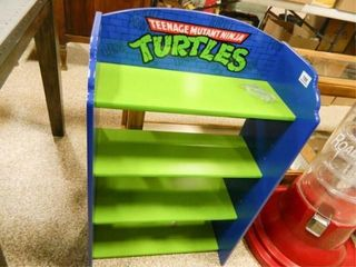 Teenage Mutant Ninja Turtles Shelf