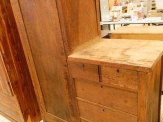 Antique Wardrobe w Dresser