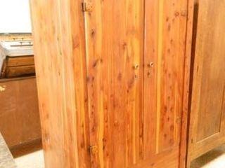 Cedar Cabinet w 2 Doors