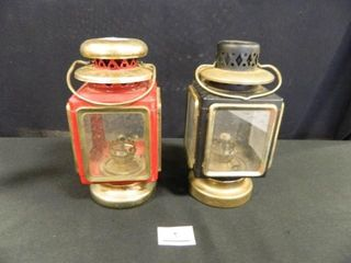 Coach Type Oil Lamps-(2)