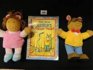 Arthur s Teacher Trouble  2 Plush