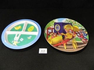 Children s Plates  Ronald McDonald