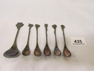 Spoon Set  Made in Holland