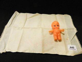 Kewpie Doll  Small Pillow Case