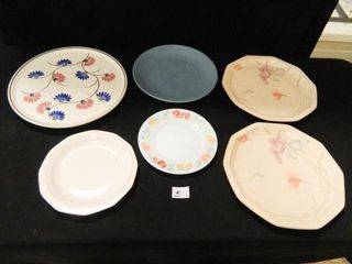Plate Collection   6  Assorted