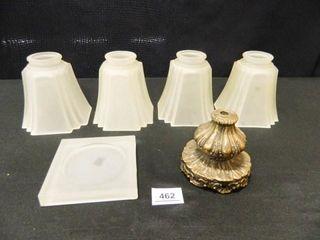 light Globes  4  Candle Holder