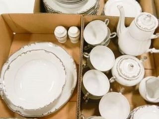 Gold China   Baronet  59 Pieces