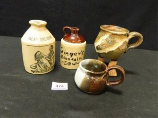 Crock and Pottery Items   4