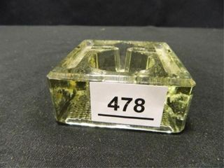 TWN Co  Glass Inkwell Pen Stand