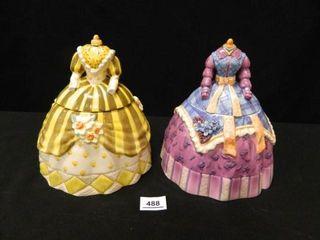 Cookie Jars  Fancy Dresses