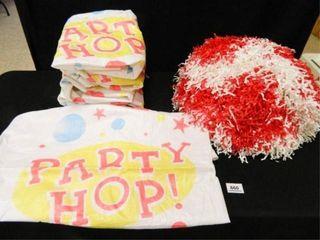 Party Hop Bags  6  Pom Pom