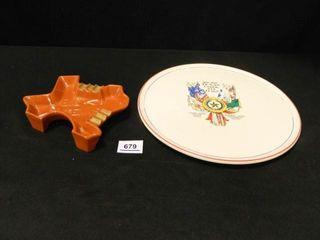 Texas Platter   Ashtray