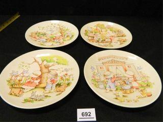 Country Kids Dessert Plates  4