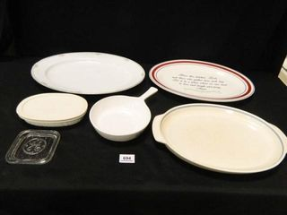Platters  Baking Dishes  Glass lid