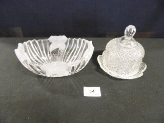 Oblong Bowl  Covered Dish