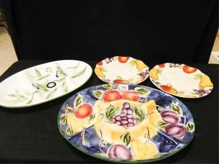 Serving Platters 2  Plates 2