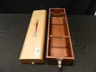 Metal Case  51 4  x 18  x 8  h