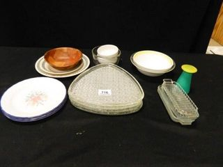 Glassware  Bowls  Butter Dishes